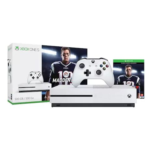 "Regularly: $280<br><a href=""https://www.kohls.com/product/prd-3061912/xbox-one-s-500gb-madden-nfl-18-bundle.jsp?skuId=Microso"