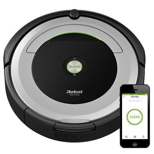 "Regularly: $375<br><strong><a href=""https://www.target.com/p/irobot-174-roomba-174-690-wi-fi-174-connected-vacuuming-robot/-/"
