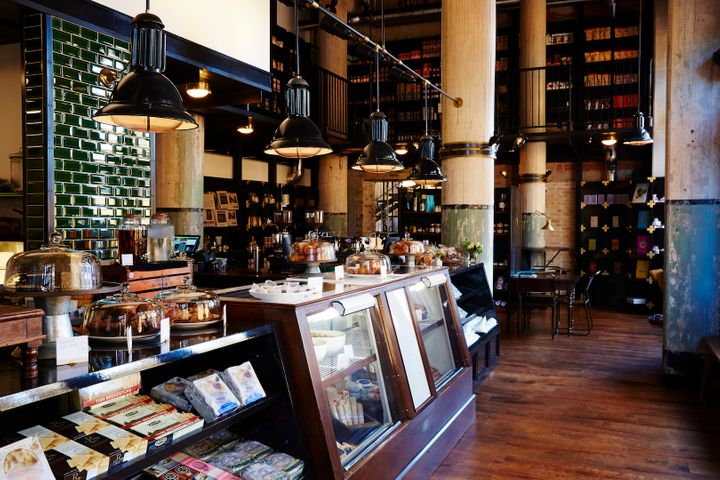 <p>Larder, the hotel's European-style bakery and market.</p>