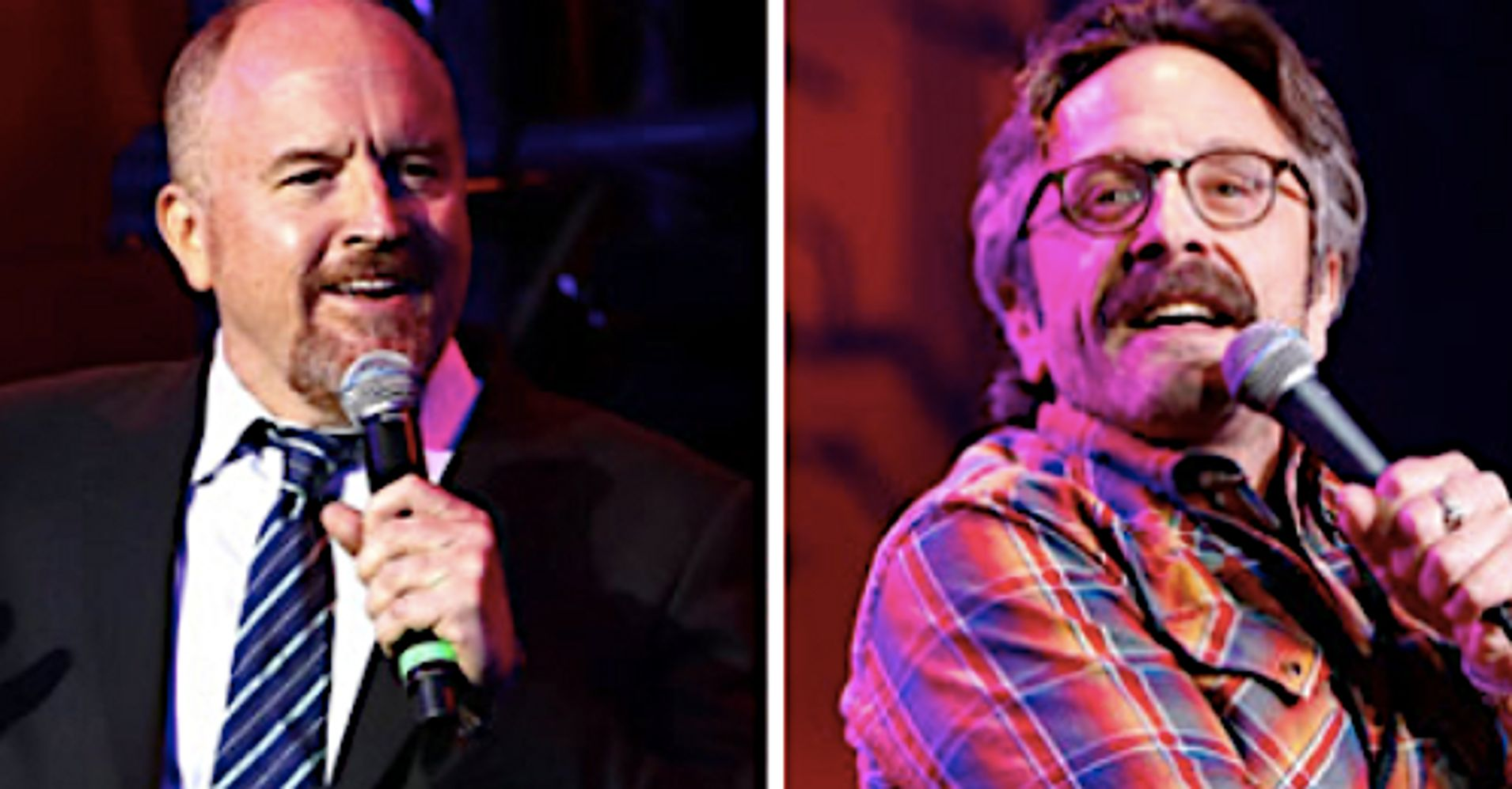 39 i 39 m disappointed in my friend 39 comedian marc maron says. Black Bedroom Furniture Sets. Home Design Ideas