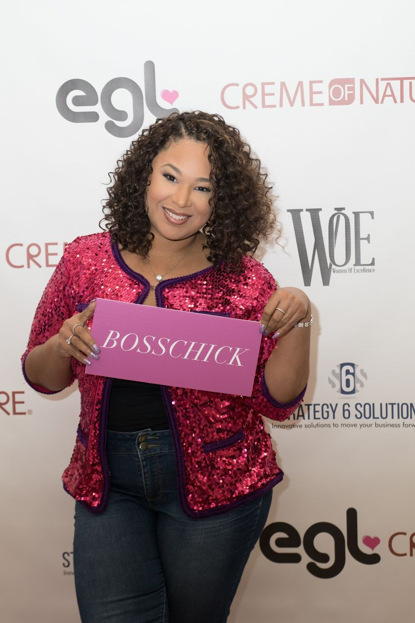 Candice Nicole, a guest speaker at Girl Talk Unfiltered Conference in Washington, D.C.