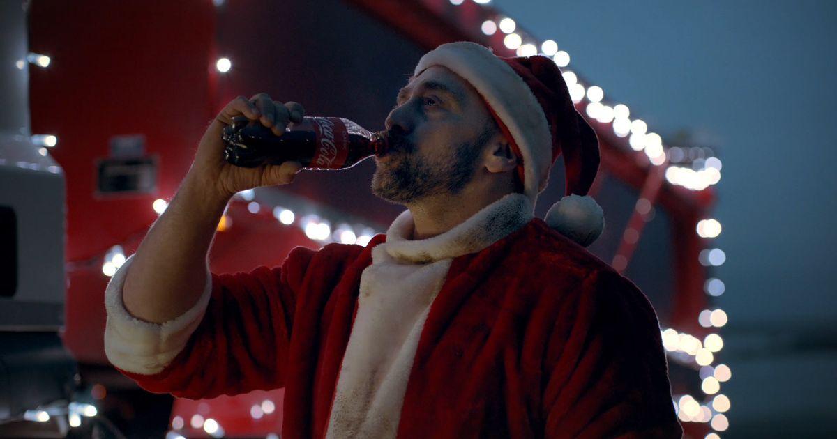 Coca Cola Christmas.Greenpeace Launch Alternative Coca Cola Christmas Advert To