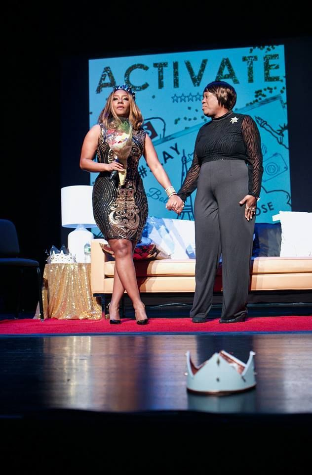 <p><strong>Lucinda Cross-Otiti and Mother Angela M. Williams</strong></p><p><strong>Courtesy of Activate2K17 Conference </strong></p>