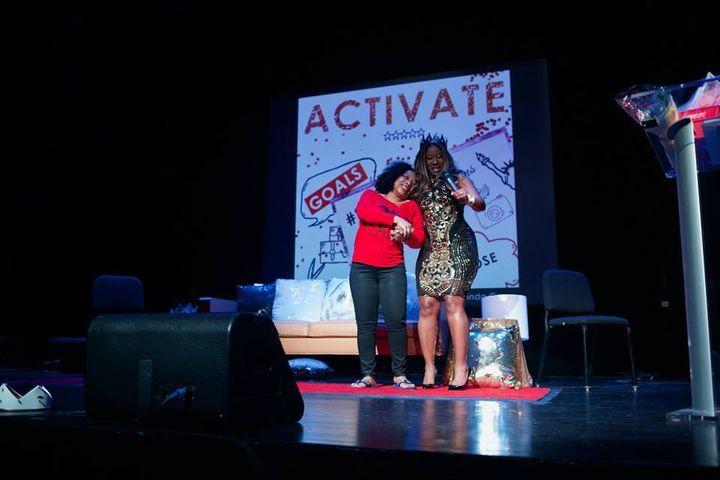 <p><strong>Lucinda Cross-Otiti and Premise Martin</strong></p><p><strong>Courtesy of Activate2K17 Conference </strong></p>