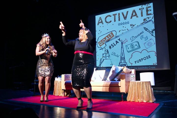 <p><strong>Lucinda Cross-Otiti and Robin Devonish</strong></p><p><strong>Courtesy of Activate2K17 Conference </strong></p>