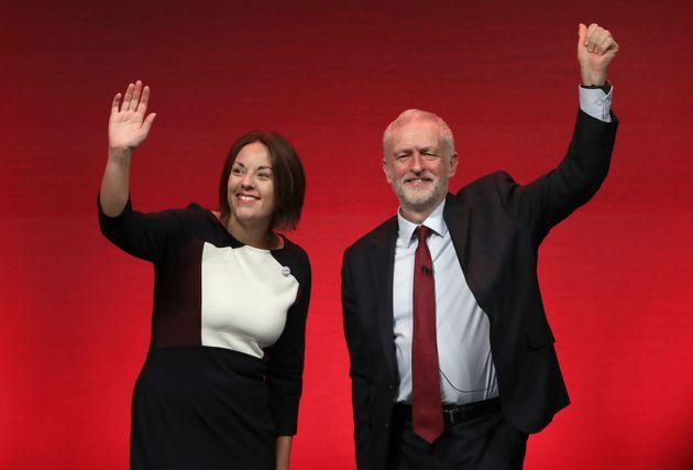 Former leader Kezia Dugdale and Jeremy