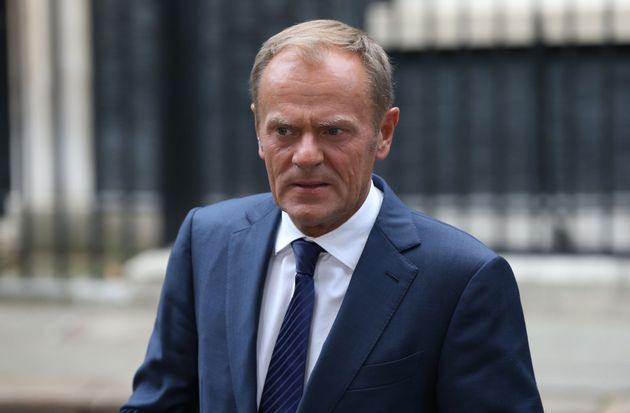 Donald Tusk said British negotiators had to make 'much more