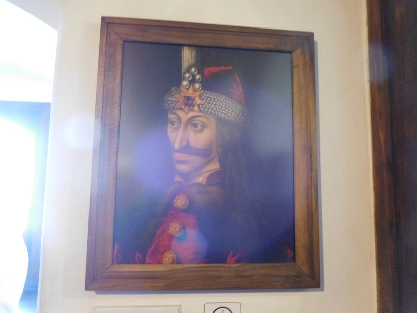 Portrait of Vlad Țepeș from Braşov Castle