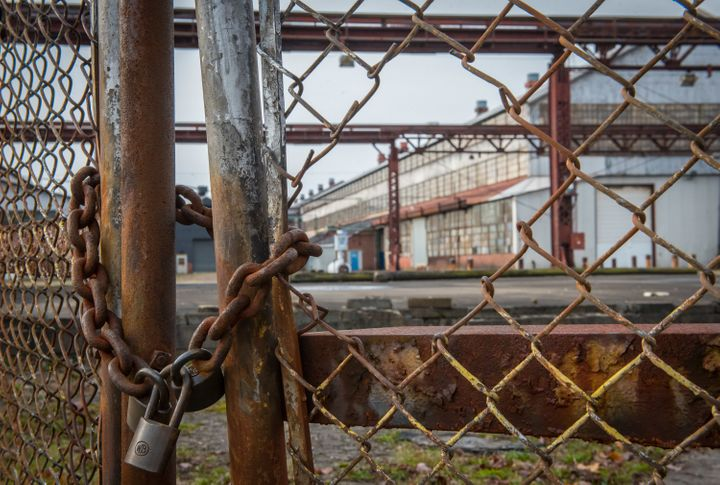 The GOP tax scam will cause more U.S. factory closures like this one in Western Pennsylvania.