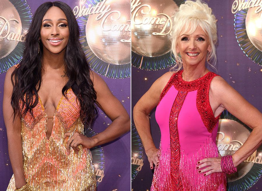Alexandra Burke And Debbie McGee Pour Cold Water On Feud