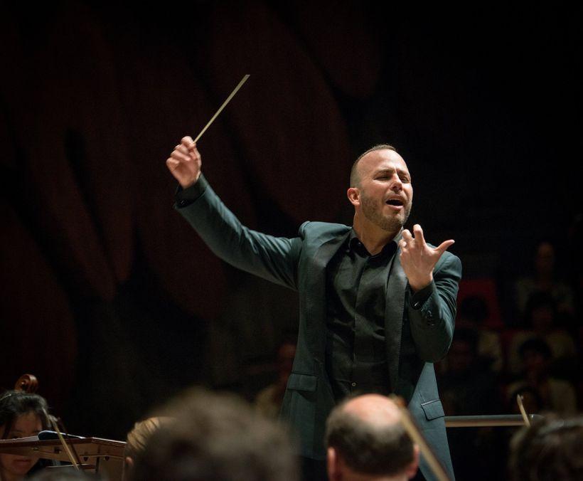 Conductor Yannick Nezet-Seguin