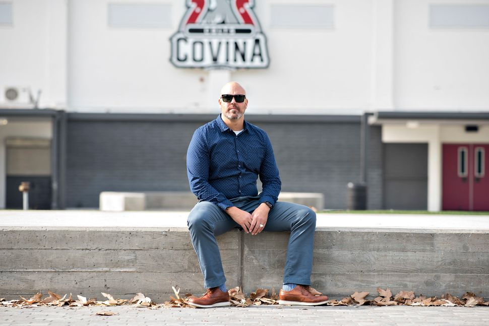 Ryan Parry, 45, taught special education classes at his alma mater, Covina High School for 16 years before moving onto being