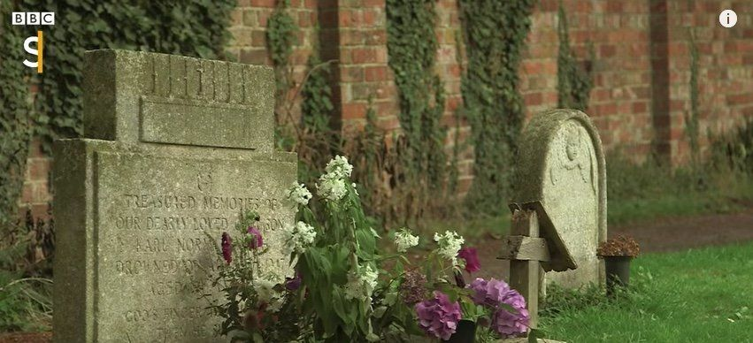 A Mysterious Stranger Has Been Leaving Flowers At This Boy's Grave For