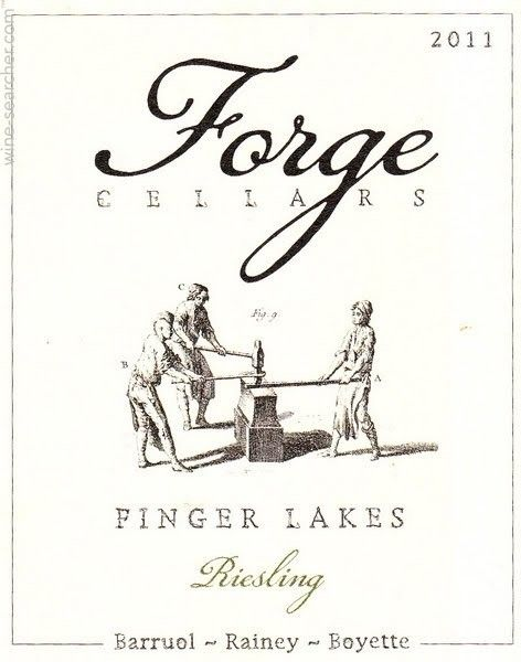 Forge Cellars - Riesling Label