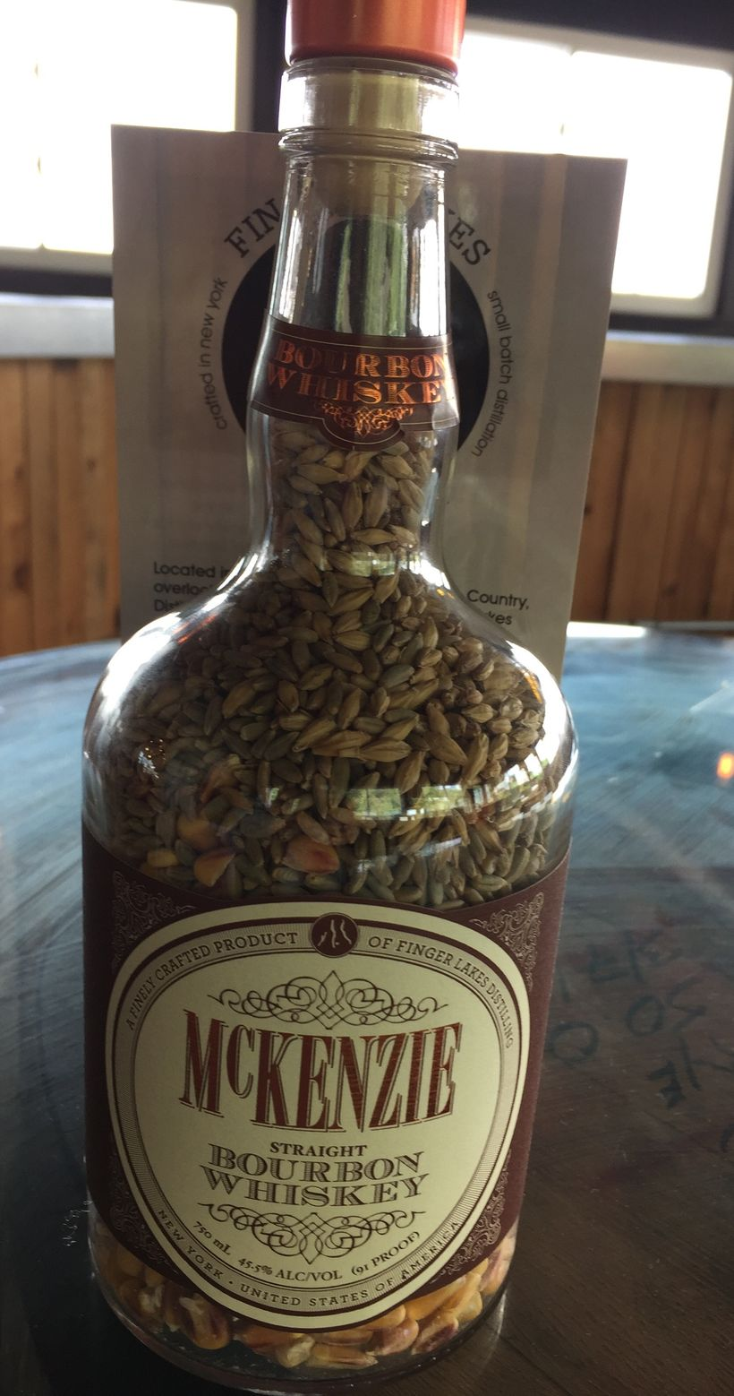 "Finger Lakes Distilling - McKenzie Bourbon Whiskey ""grains"""