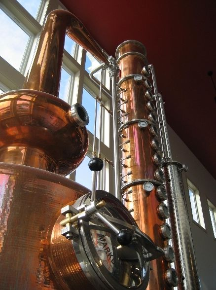 Finger Lakes Distilling - Copper Pot Still