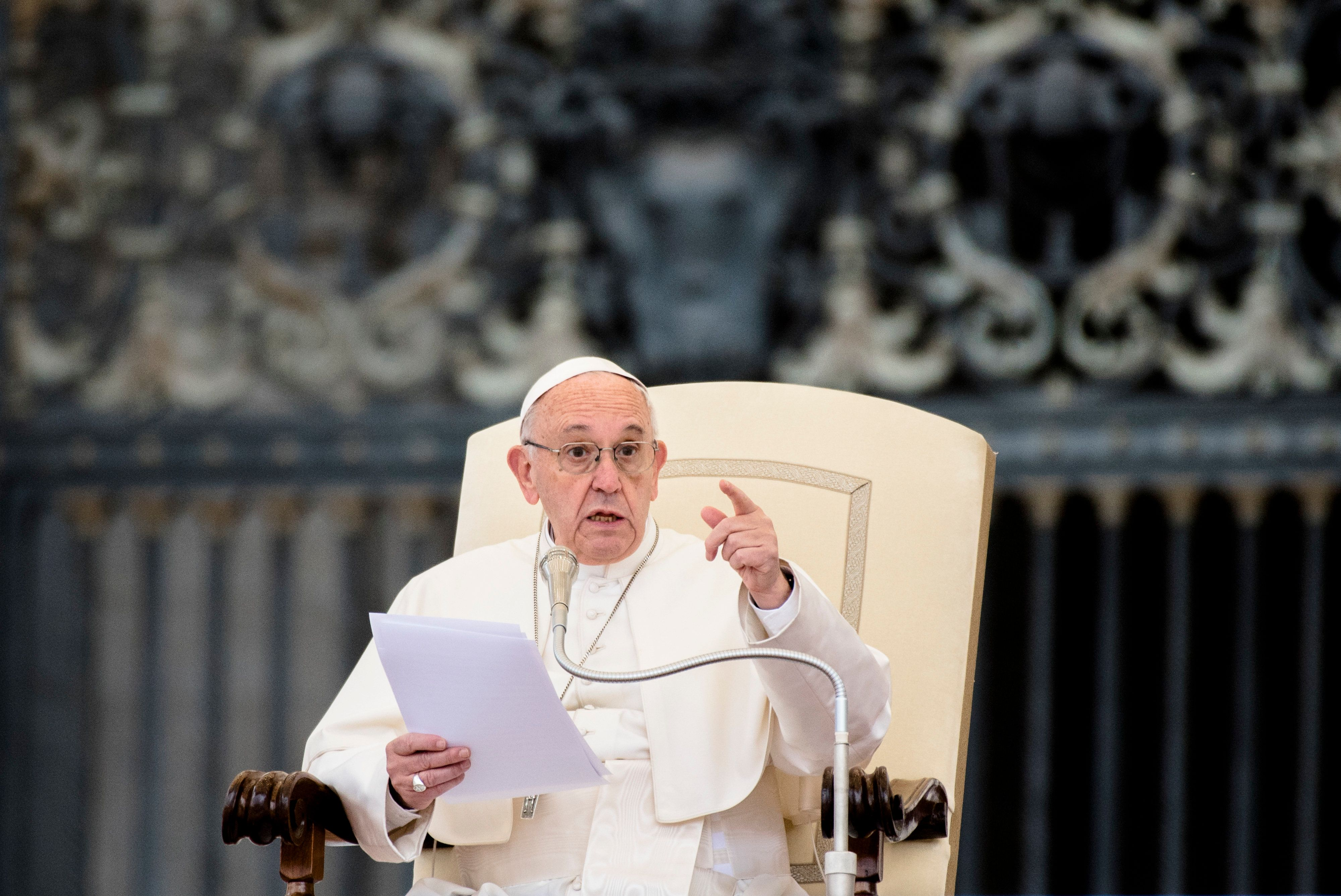 Pope Francis Blasts 'Perverse Attitudes' Of Climate Change