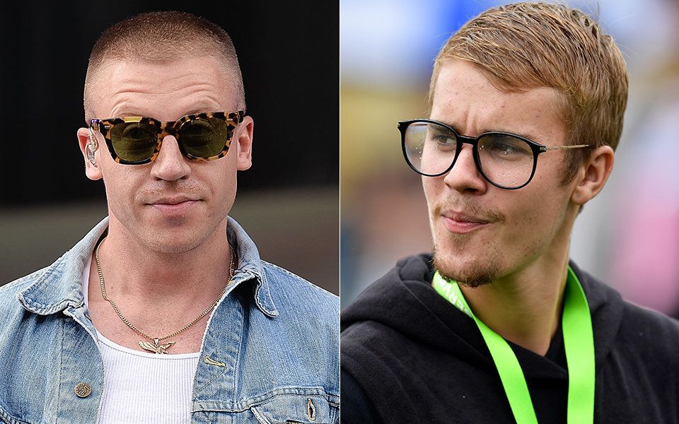 For Some Reason, Macklemore Has A Naked Justin Bieber