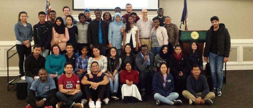 Community College Initiative Program, Northern Virginia Community College, November 2017