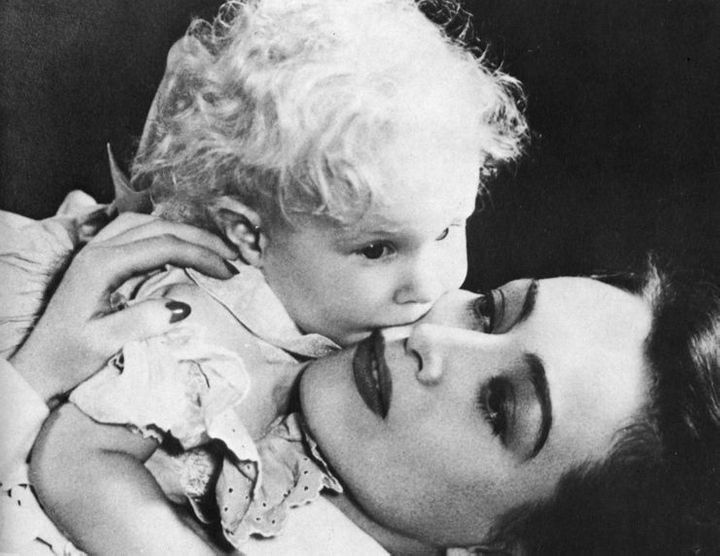 Christina and Joan Crawford
