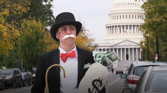 Amanda Werner went viral after dressing up like the Monopoly Man during a Senate hearing on the Equifax breach