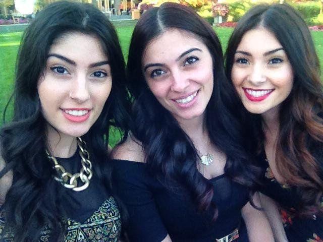 <i>From&nbsp;left to right:&nbsp;</i>Juliana,&nbsp;Jessica and&nbsp;Alexandra.