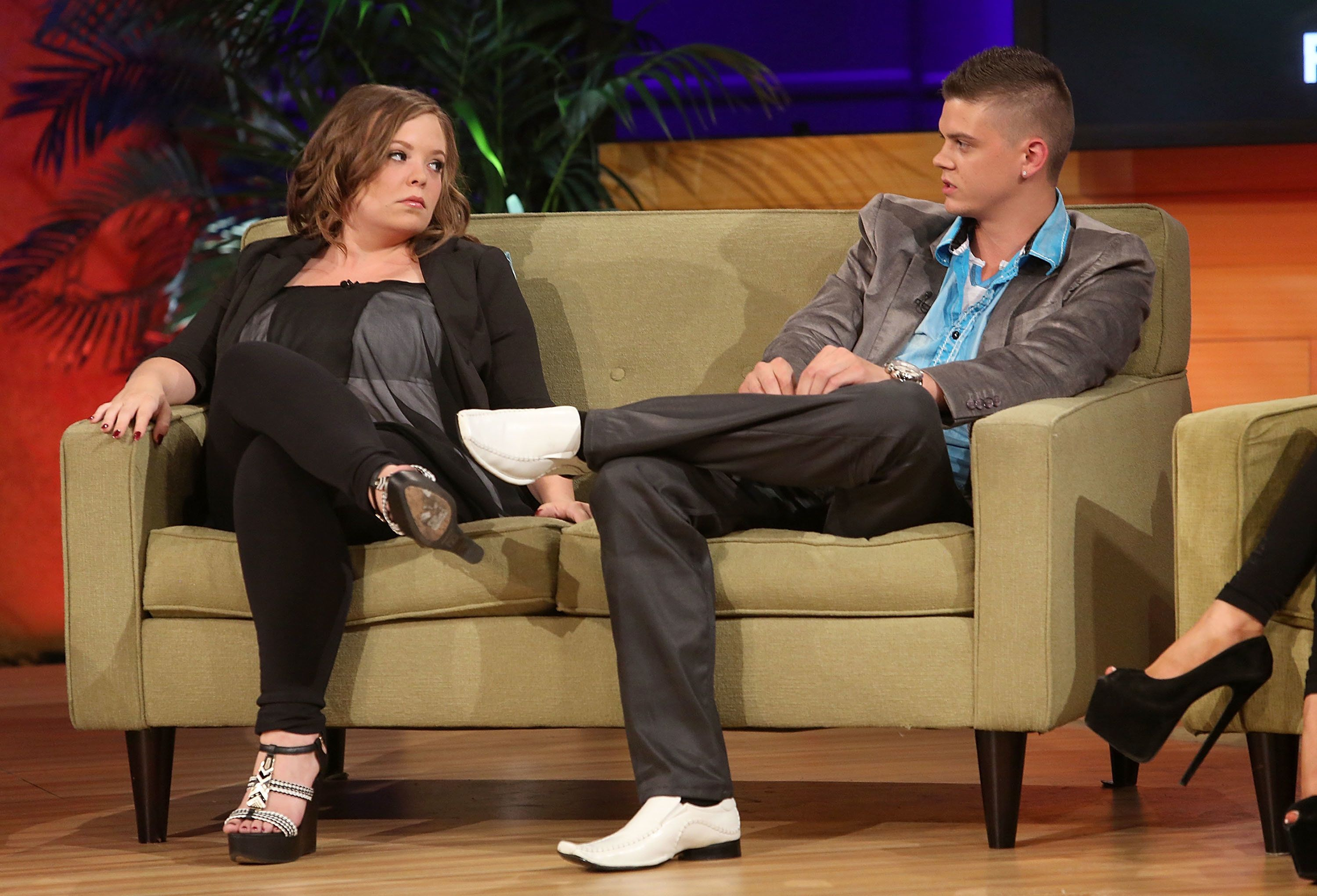 Catelynn and Tyler discuss the difficulties of teen pregnancy