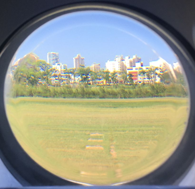 Flight Attendant's view of San Juan, Puerto Rico