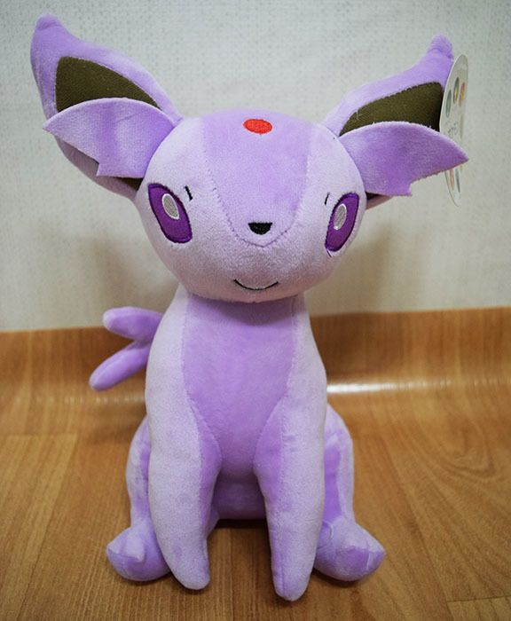 The Eeveelutions, such as Espeon, are among the most commonly counterfeited characters.