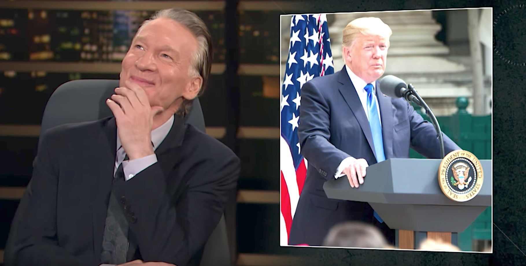 Bill Maher Gives 'A Christmas Carol' Glimpse At 'Scrooge' Donald Trump's Alternate Life