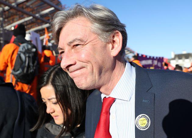 Richard Leonard has beaten Anas Sarwar to be crowned Scottish Labour