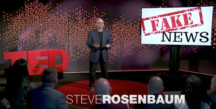 Steven Rosenbaum at TED HQ