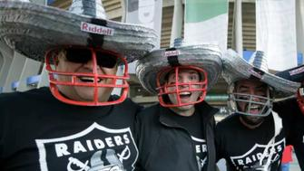 Oakland Raiders fans in Mexico chanted a gay slur during punts and kicks by the Houston Texans