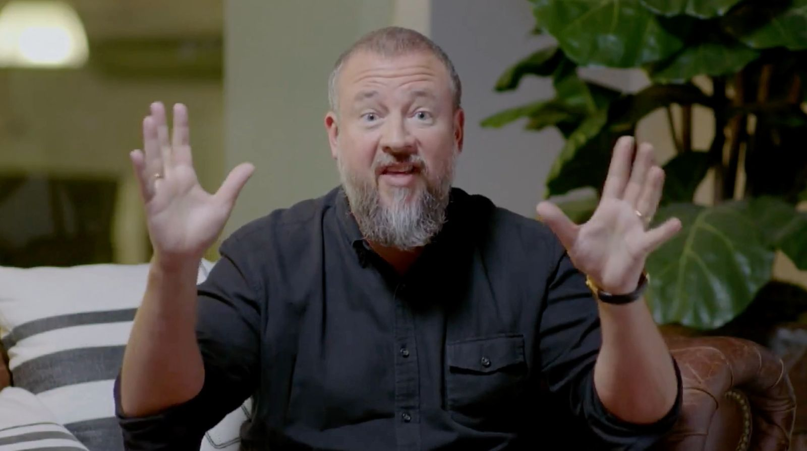 Vice CEO Shane Smith, in a video shown to employees Friday, confirms that he does, in fact, have hands.