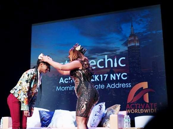 <p><strong>Lucinda Cross-Otiti, Chief Activator, and Khayla (Daughter)</strong></p><p><strong>Courtesy of Activate2K17 Conference</strong></p>