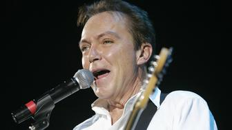 David Cassidy performs in concert at Hammersmith Apollo, London.