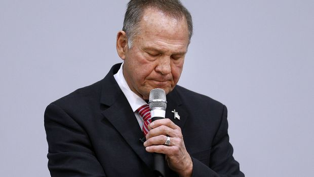 How Will Alabama Gov. Kay Ivey Explain A Roy Moore Vote To Little Girls?