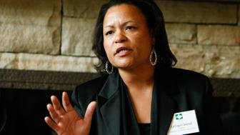 ASPEN, CO - JULY 23: LaToya Cantrell attends a benefit dinner and discussion about the 5th Anniversary of Hurricane Katrina and the BP Oil Spill on July 23, 2010 in Aspen, Colorado. (Photo by Riccardo S. Savi/WireImage)