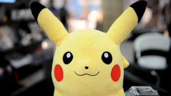 A Pokemon backpack from Nintendo at the Toy Fair 2011 on February 15, 2011 at the Javits Center in New York. AFP PHOTO/Stan HONDA (Photo credit should read STAN HONDA/AFP/Getty Images)