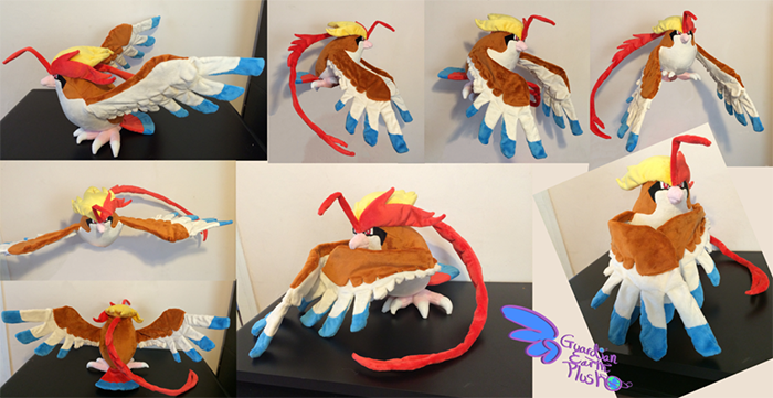 <strong>This large, possible Mega Pidgeot plush features a character that never got an officially licensed doll.</strong>