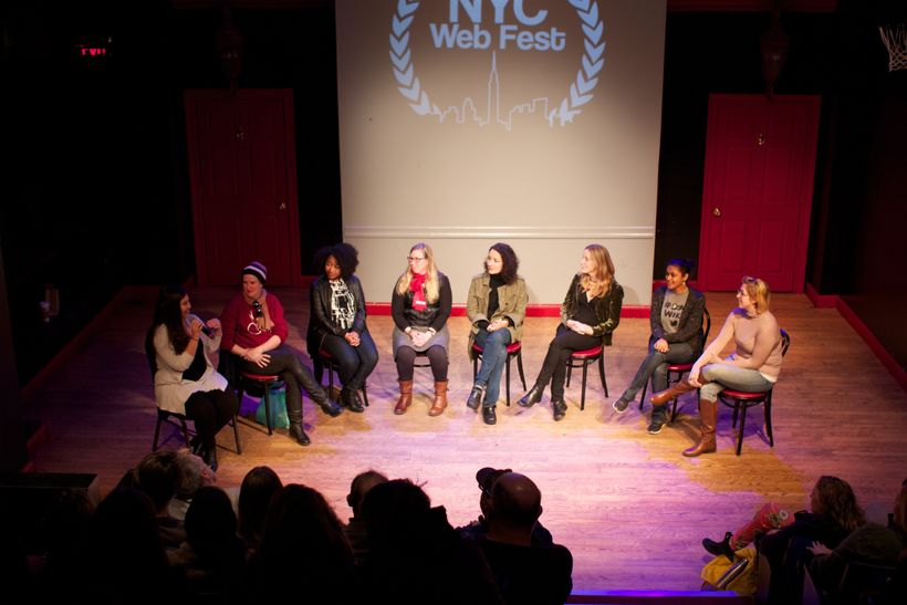 NYC Web Fest Womens Panel