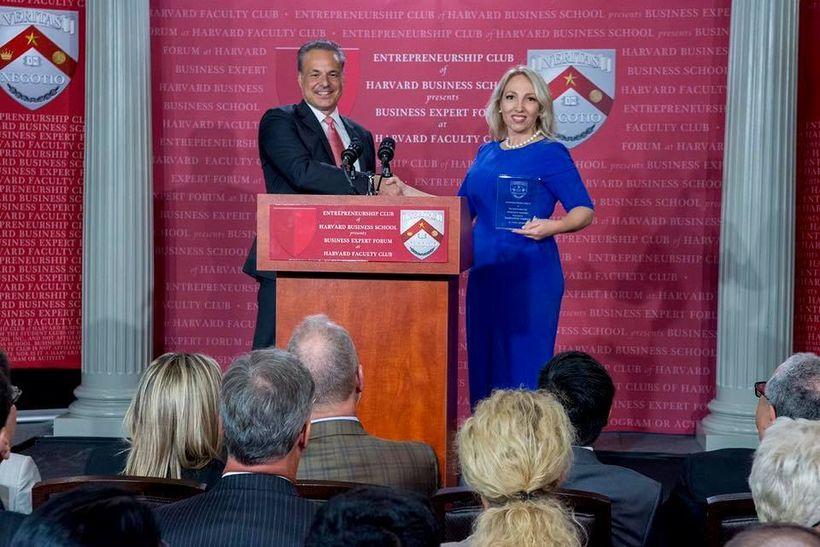 Clint Arthur honors Maryanne Parker