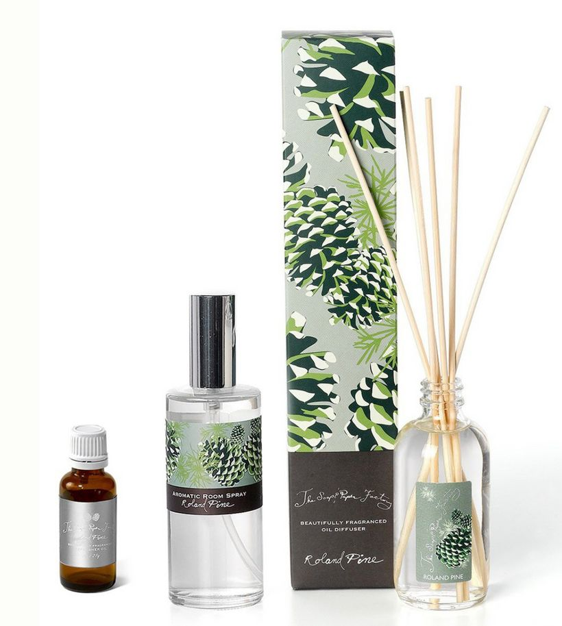 "Roland Pine Home Fragrance Set from <a rel=""nofollow"" href=""http://www.soapandpaperfactory.com/roland-home-fragrance-set.html"