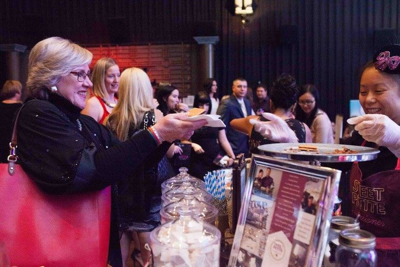 Guests enjoyed tasty treats, high-vibe networking, live performances and a fashion show