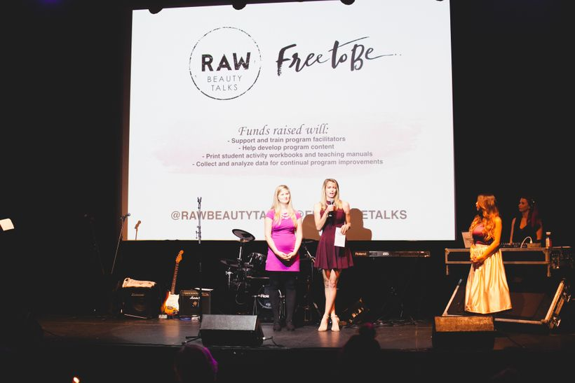As a community, we raised funds for Raw Beauty Talks and hit our goal!
