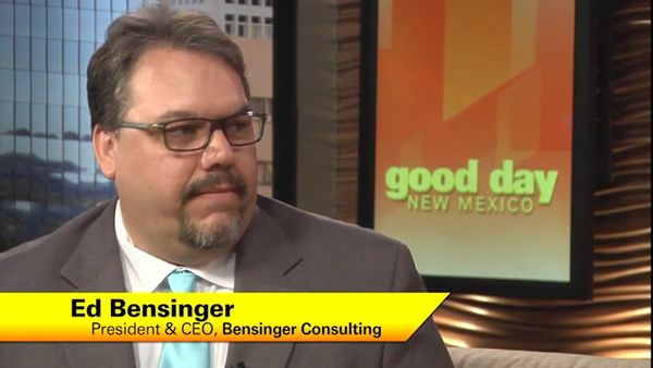 Ed Bensigner on NBC in New Mexico