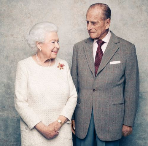 New Photographs Celebrate Queen And Prince Philip's 70th Wedding