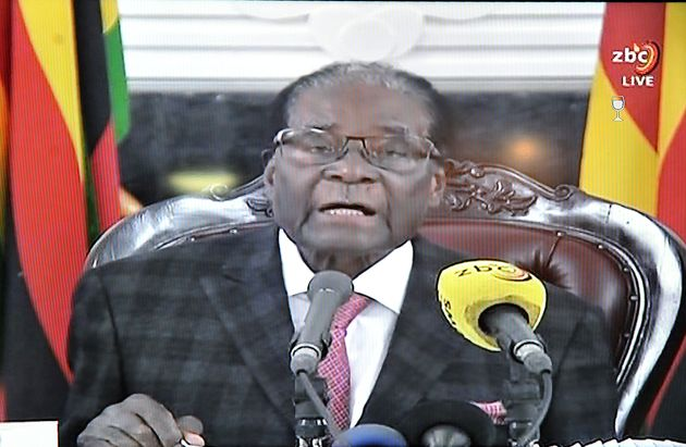 Robert Mugabe Defies Demands To Quit As President Of