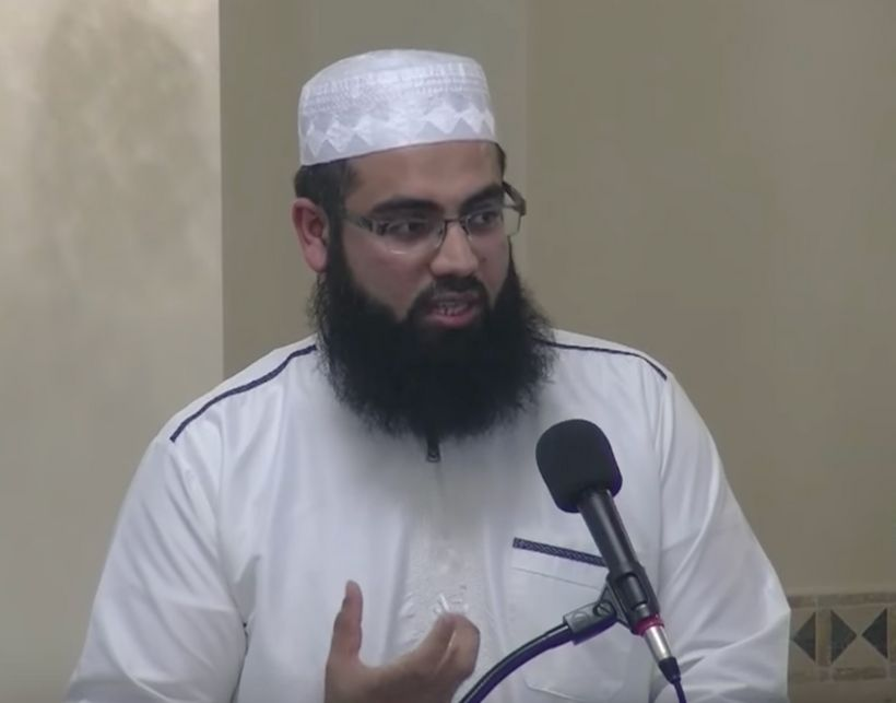 Sheikh Usman Ahsan, cleric at DarAl noor Islamic Community Center in Manassas, Virginia