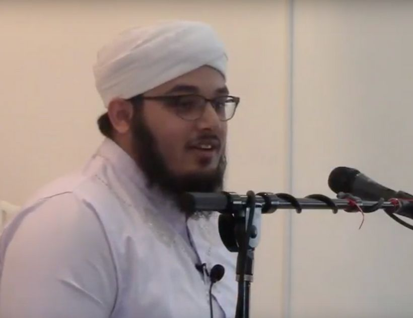 Maulana Ahsan Khan, Cleric/Imam at the Islamic Center of Northern Virginia (Shirley Gate Mosque) in Fairfax Virginia, al
